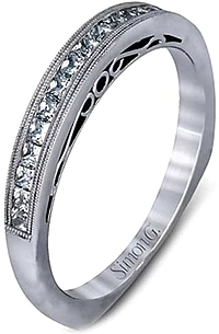 Simon G Channel Set Diamond Wedding Band
