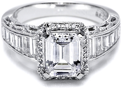 Reviews Ratings And Customer Feedback Tacori Diamond Engagement Ring For An Emerald Or Radiant Cut Ht2531