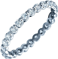 Verragio Bar Set Diamond Eternity Band
