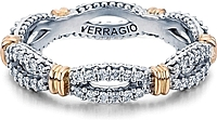 Verragio Twist Diamond Wedding Band
